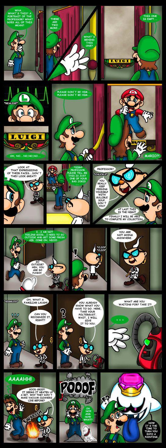 Luigi's Mansion 3 comic - Dark Illusions - 4 by Princesa-Daisy