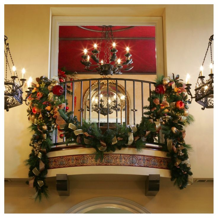 Christmas Decorating Ideas For A Balcony : Best images about my christmas on