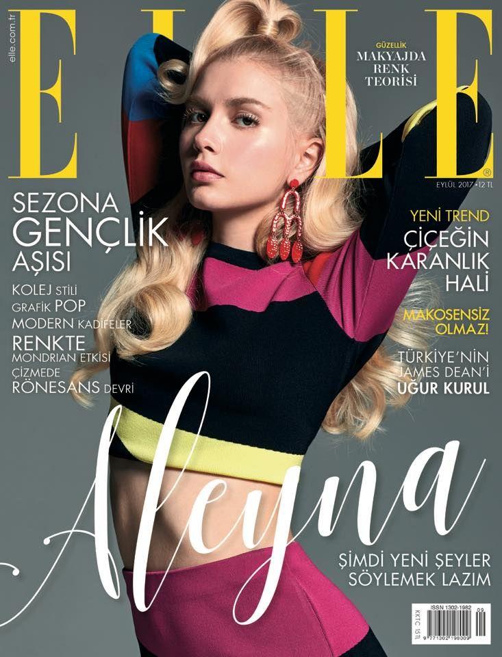 Aleyna Tilki by Ergin Turunc for Elle Turkey September 2017