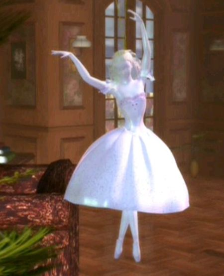 Barbie: The Nutcracker Suite (2001) Ballerina Princess Movie Nutcracker Sugaplum Princess Klaramaya Masha Mari Stahbaumova Pirlipat Musical Dancing Damsel Doll Ornmant (Klaramaya's favorite)| Barbie Movies.