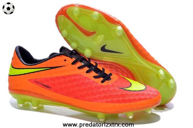 orange nike soccer cleats