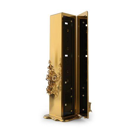 Dalí Safe | Exclusive Furniture by Boca do Lobo www.bocadolobo.com
