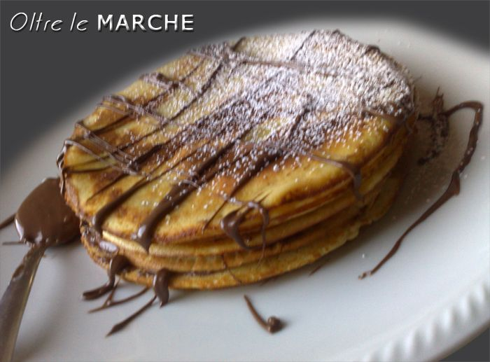 Pancake con nutella