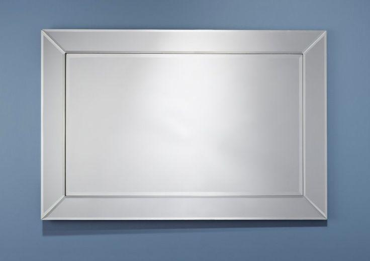 Les 25 meilleures id es de la cat gorie verre biseaut sur for Miroir design rectangulaire