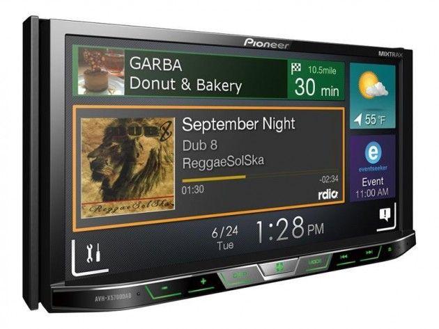 Pioneer AVH-X5800 DAB Bilstereo | Satelittservice tilbyr bla. HDTV, DVD, hjemmekino, parabol, data, satelittutstyr