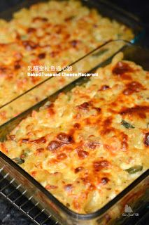 Coco's Sweet Tooth ......The Furry Bakers: 乳酪金枪鱼通心粉 Baked Tuna and Cheese Macaroni