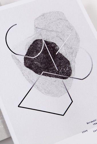 Catalogue des oeuvres du designer Benjamin Graindorge - Les Graphiquants, Paris