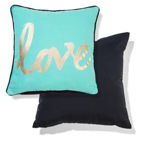 Love cushion - $10 - Kmart Just want one for the bed room! Bf hates it but i LOVE it! <3