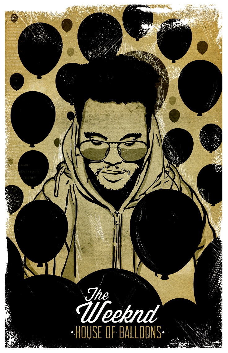 The Weeknd - House of Balloons by Cody Brown