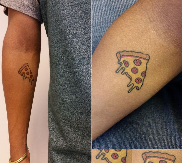 My Pizza Slice / By C Wednesday / Gnostic Tattoo / Brooklyn NY