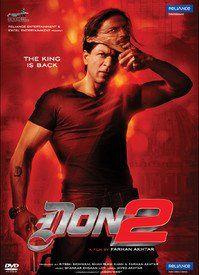 DON 2 SHAHRUKH KHAN (Bollywood Hindi DVD)with english subtitles