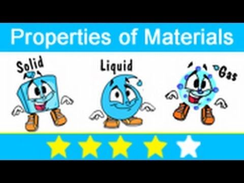 In this lesson of kids science you will learn about the Materials and their Properties. You will also learn about the states of matter named as Solid, liquid and Gas.