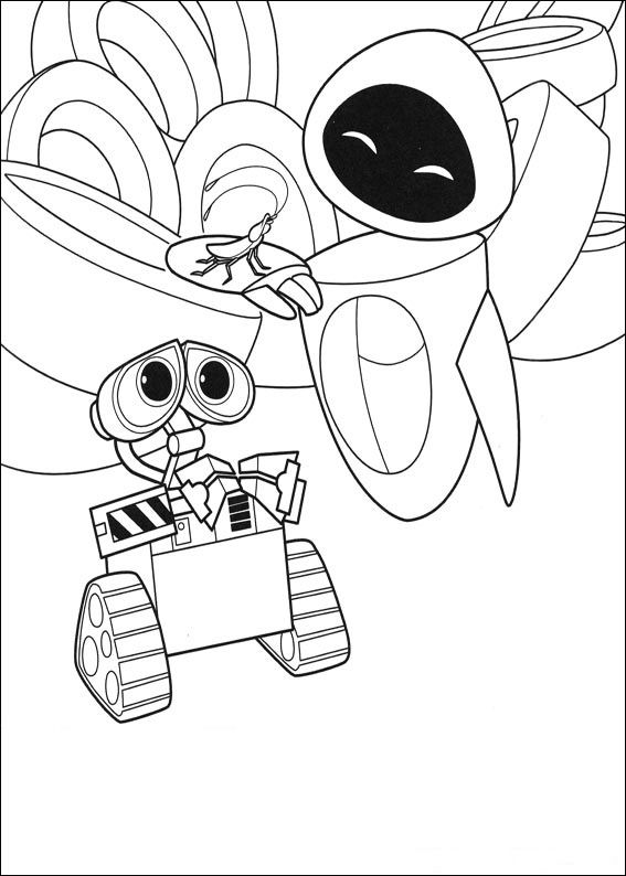 Wall E Coloring Pages Best Coloring Pages For Kids Disney Coloring Pages Coloring Pages For Kids Cartoon Coloring Pages