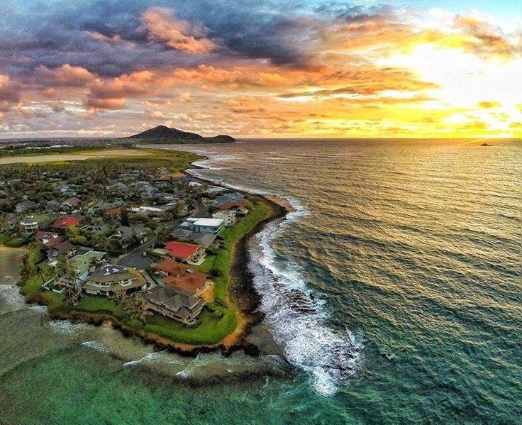 Kaimalino, Kailua. Instagram, Drone photography, Hawaii