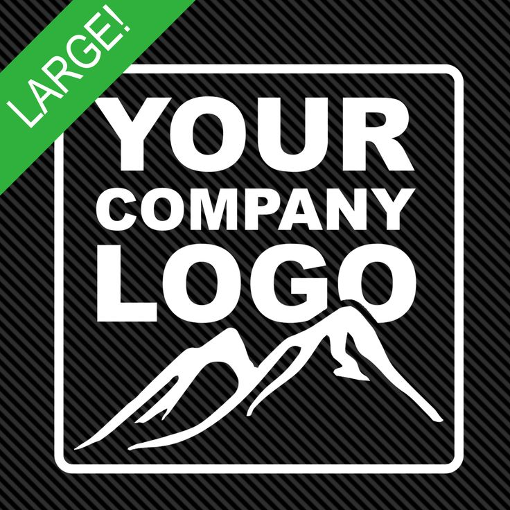 This is for 1 custom logo decal up to 4 x 8 larger sizes available
