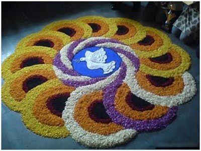 30 Simple Rangoli Designs That You Can Try This Festive Season