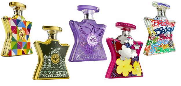 Bond No. 9 perfume bottle design