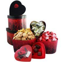 My Hearts Desire Chocolate and Candy Gourmet Food Gift Tower - Valentine's Day  http://holiday-unique-gift-ideas.blogspot.com/2013/12/holiday-gift-baskets-best-holiday-gifts.html  #Holiday_Gift_Baskets #Holiday_Gift_Ideas #Holiday #Gift #giftrift #valentines