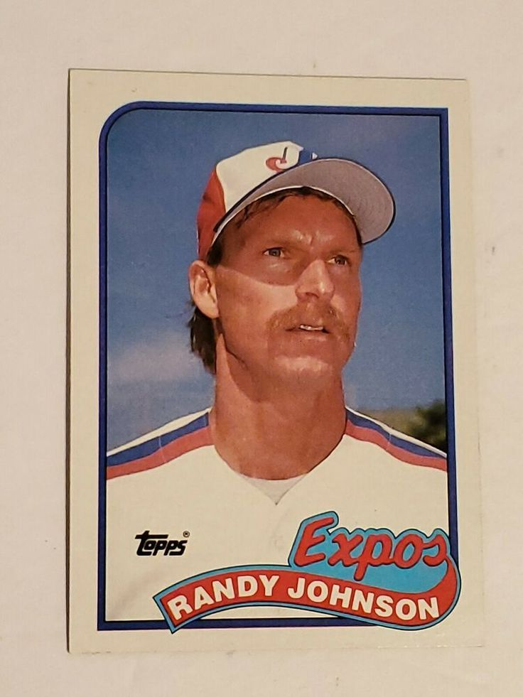 1989 Topps Randy Johnson RC 647 Mint MontrealExpos in