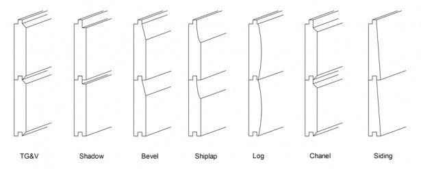 timber siding profiles