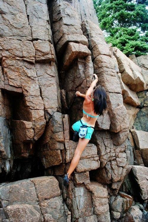 thatclimbergirl:  More beach bouldering
