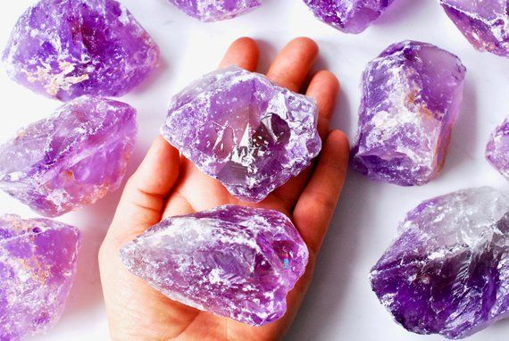 Healing Crystals Love Amethyst Geode Cluster for Home Decor and Reiki 2lb