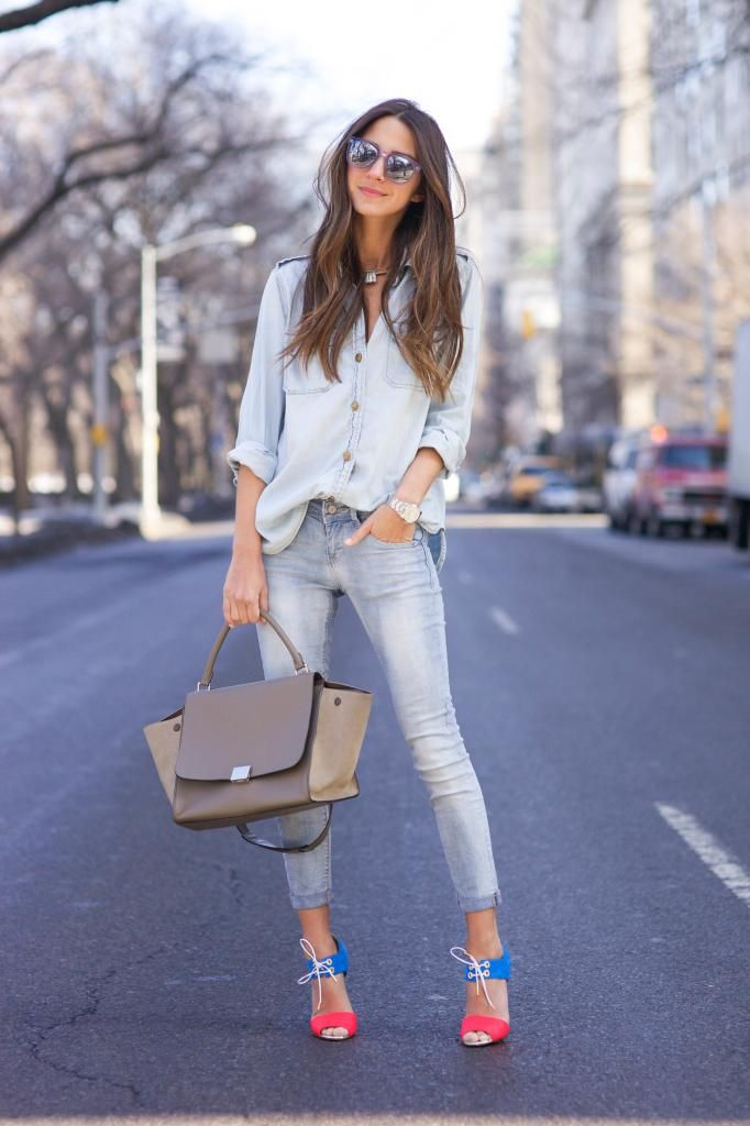 487 best Jeans & Heels images on Pinterest | Feminine ...