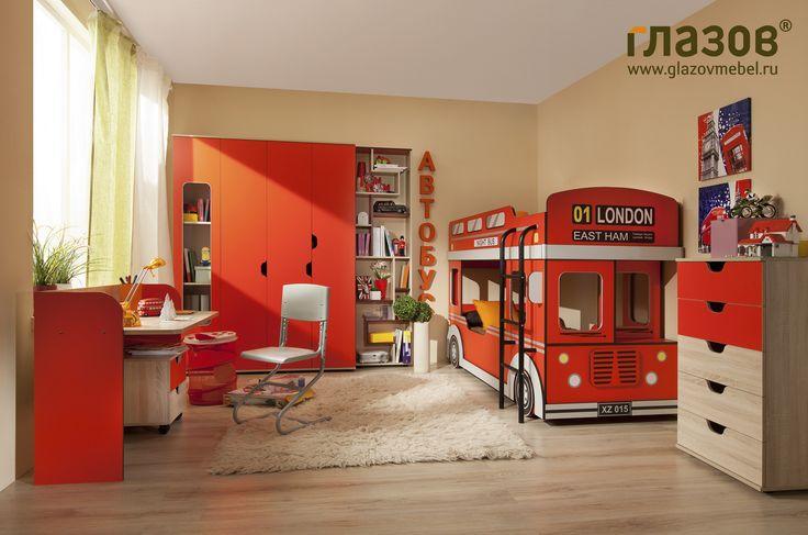 Мебель для детской Автобус - композиция 1