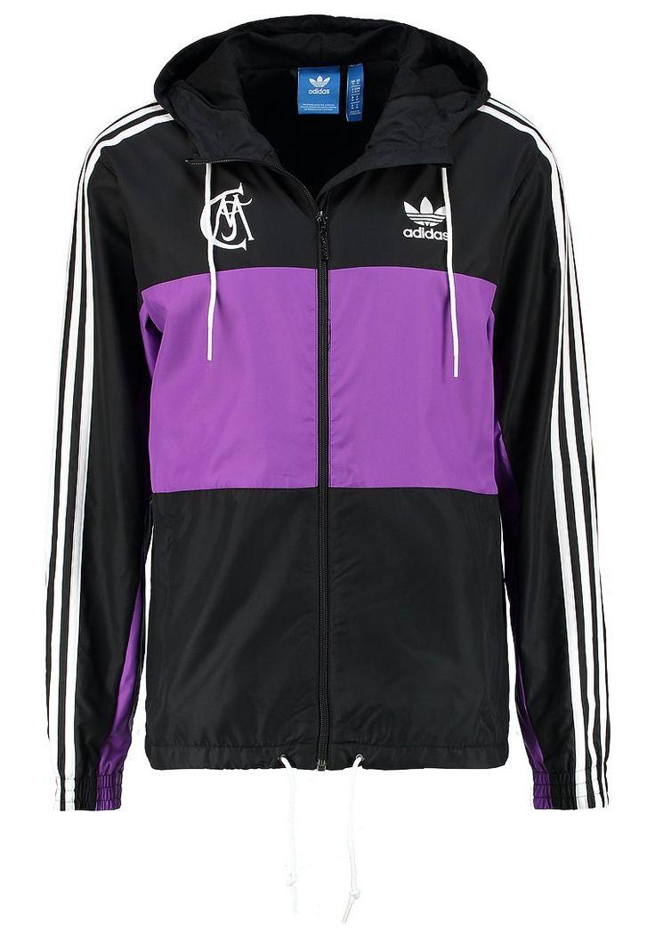 adidas Originals REAL MADRID Trainingsjacke black/raypur Bekleidung bei Zalando.de   Material Oberstoff: 100% Polyester   Bekleidung jetzt versandkostenfrei bei Zalando.de bestellen!