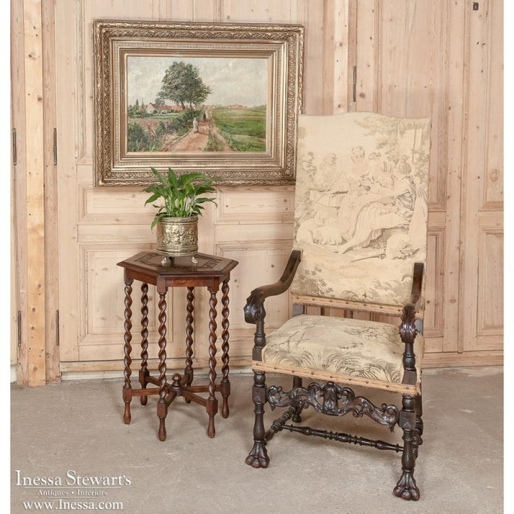 Antique Store Online ~ Belle Brocante ~ www.inessa.com ~ 19th Century Oil Painting by Bodart