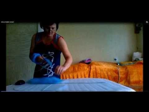 валяние носков из шерсти -1 часть - YouTube