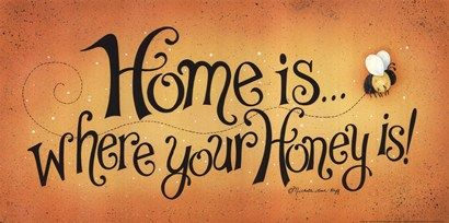Home Is . . . Art Print by Michelle Lash-ruff at Urban Loft Art