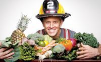 "Happy Healthy Long Life:  Tri-Athlete & Fireman Rip Esselstyn's Heart Healthy Weight Dropping Cholesterol Lowering Diet for ""Real Men"""