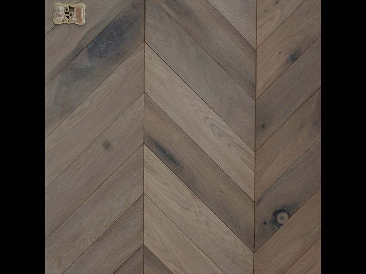 Love these floors. Samples are here in my studio! Chevron Parquet | DuChateau