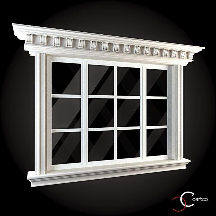 Home Design 3d Windows Download: Ornamente Decorative Exterior Ferestre Cod: WIN-061