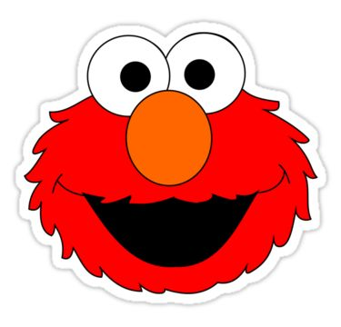 Elmo Face Clipart 41 best Sesame Street ...