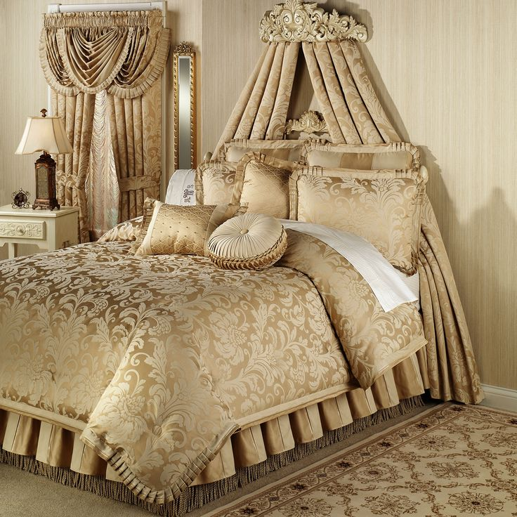 17 Best Images About Gold Bedding On Pinterest