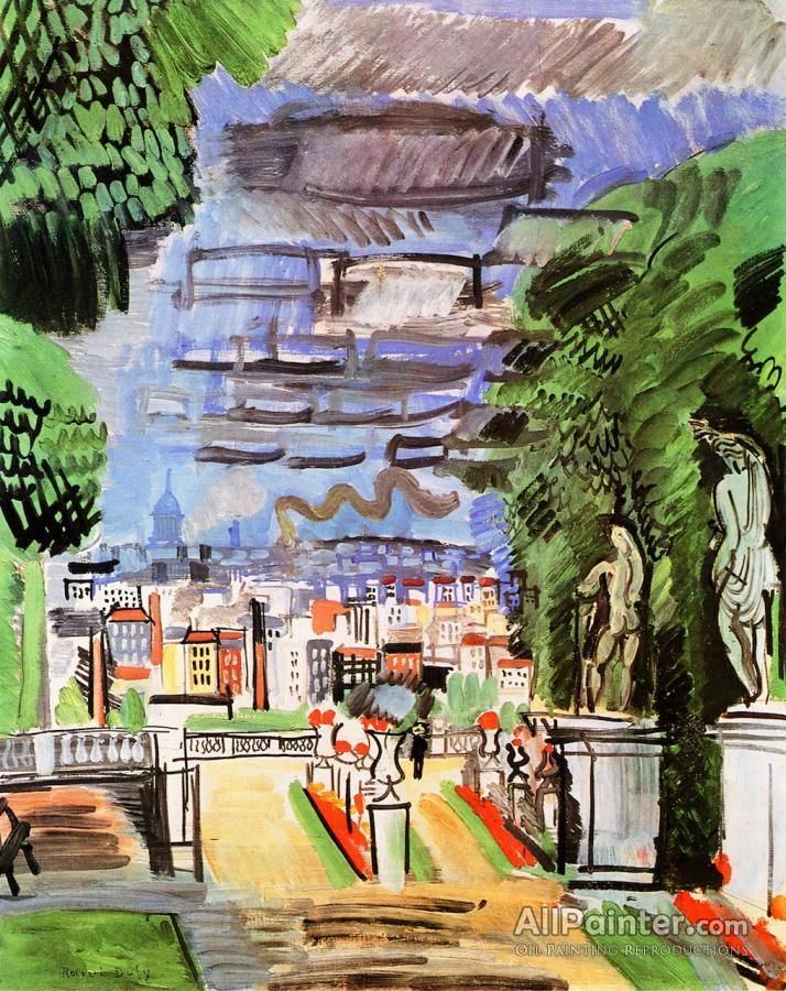 Raoul Dufy,Part Of Saint-cloud oil painting reproductions for sale