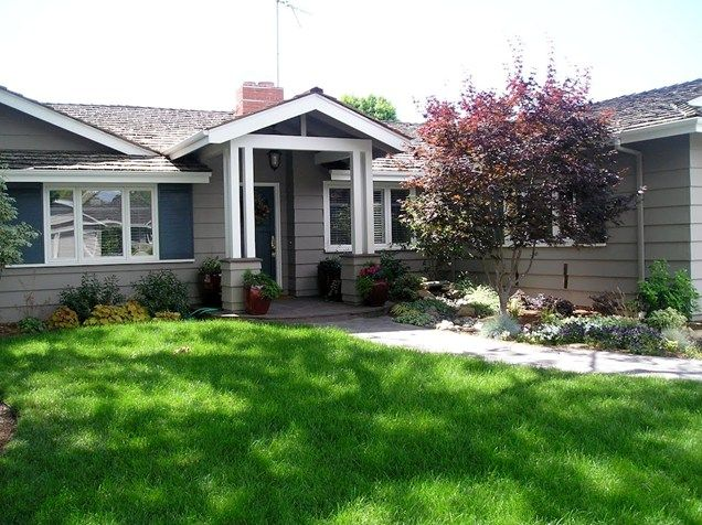 141 best images about front yard curb appeal on pinterest for Curb appeal landscaping