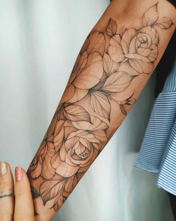 70+ Simply of Beautiful Flower Tattoo Drawing Idea…