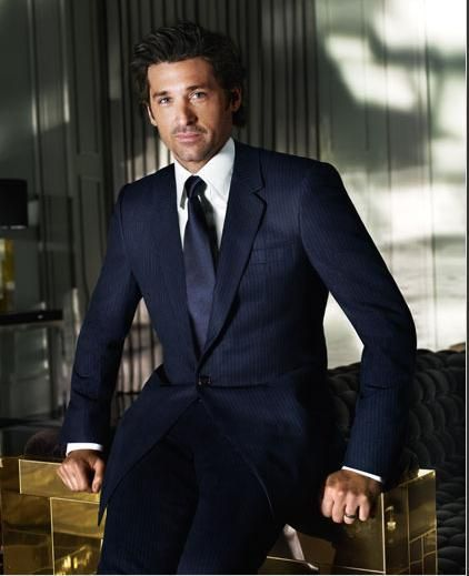 Patrick Dempsey. He has come a long way from that scrawny guy in 'Can't Buy Me Love'. But even then it was hard not to crush on him;)