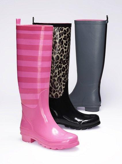 Rain Boot - Colin Stuart - Victoria's Secret ...I think I like the pink ones :) $88
