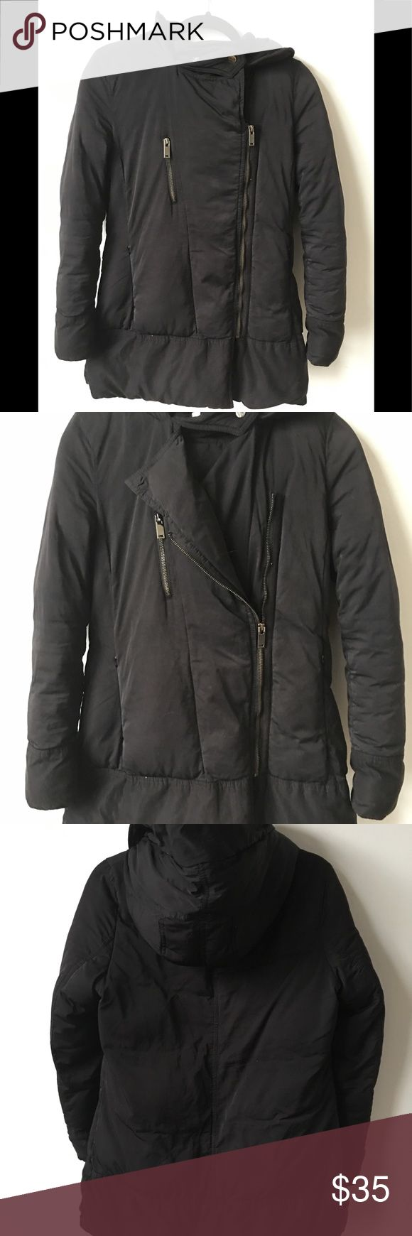 Awesome Zara winter coat It is poly filled and thick/ very warm!! Feels like your wearing a down comforter for a coat! Very very comfortable! Zara Jackets & Coats