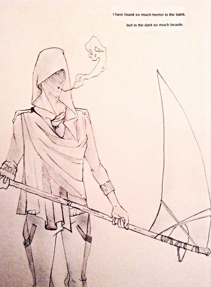 Death or the Grim Reaper.  ~Ashleigh Chandler