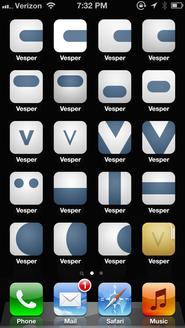 """""""Vesper is opinionated software. Every interaction, pixel, and line of code was carefully considered, and no work was too precious to throw away"""" - Great read"""