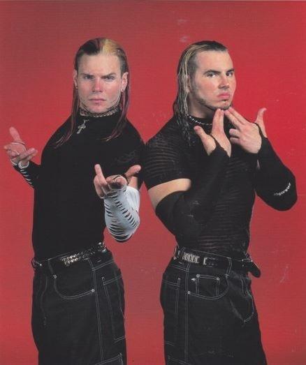 The Hardy Boyz... oh the good ol days....