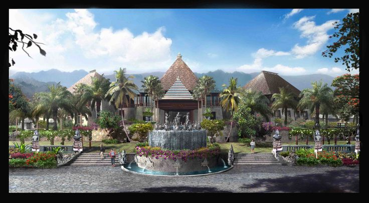 Landscape Illustration | China | 2012 Design by A.A Gede Agung