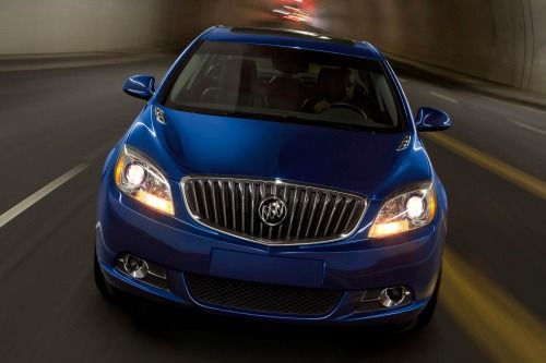 2016 Buick Verano 1SV Sedan 2.4L 4-cyl. 6-speed Automatic Features and Specs