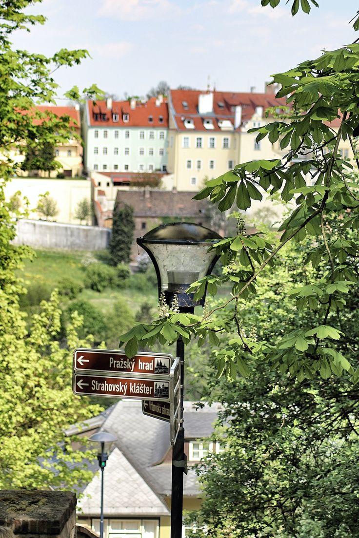 Směr Pražský hrad