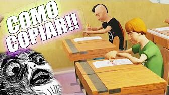 COMO COPIAR EN CLASES - Highschool 101 - YouTube